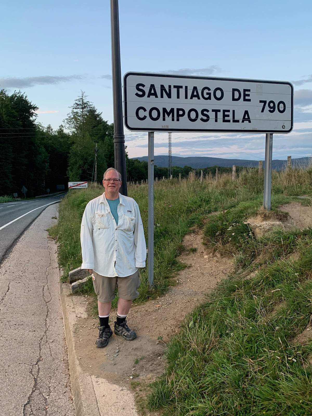 790 km to the Cathedral of Santiago de Compostela