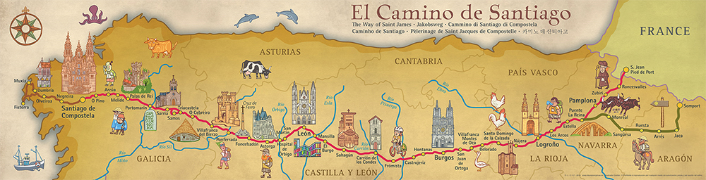 The El Camino de Santiago
